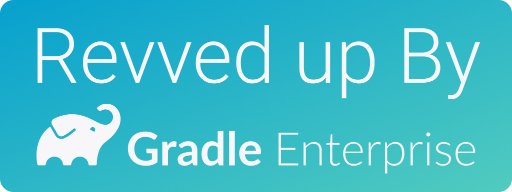 Revved up by Gradle Enterprise
